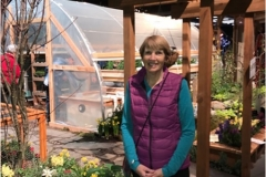 Susan at 2017 NW Flower and Garden Show
