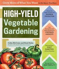 high yield vegetable gardening