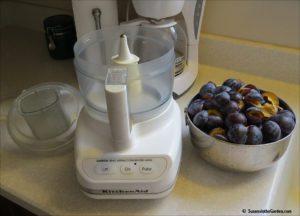 spiced plum butter