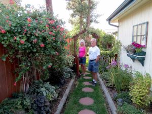 Alan and Tracy Lewis, drip irrigation