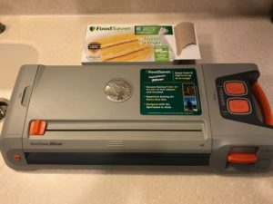 freezing vegetables, FoodSaver vacuum sealer