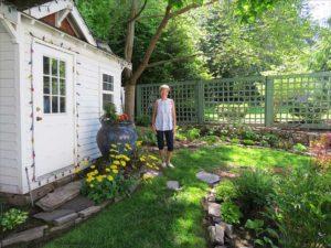shade gardens, Merilee Dinneen