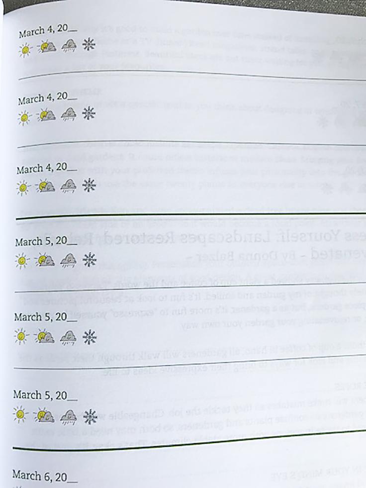book review three year gardener s gratitude journal susan s in